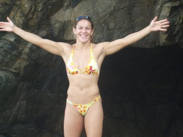 Cris Cyborg topless picture