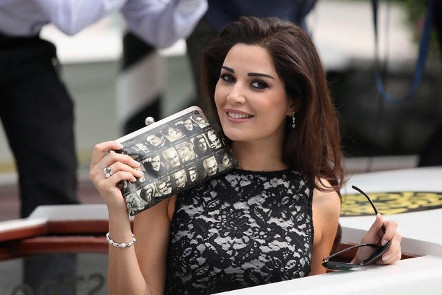 actress Cyrine AbdelNour 21 years nipple photos in public