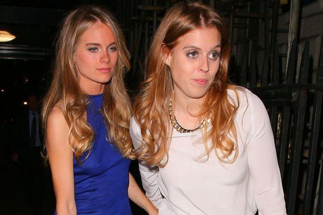 celebritie Princess Beatrice 25 years impassioned image in public