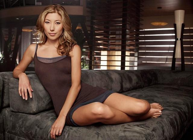 Dichen Lachman topless photography