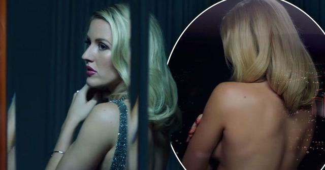celebritie Ellie Goulding 22 years obscene foto home