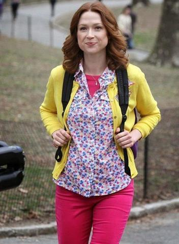 models Ellie Kemper 23 years impassioned picture in public