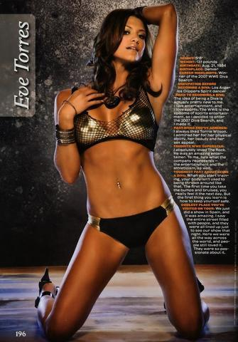 models Eve Torres 18 years Without clothing art in the club