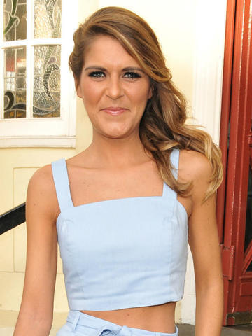 actress Gemma Oaten 2015 melons photo in public