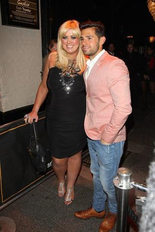 celebritie Gemma Collins 22 years mammilla art home