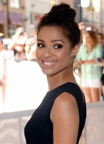 models Gugu Mbatha-Raw 2015 Without bra photos in public