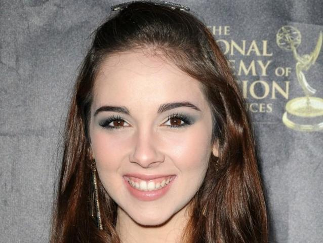 models Haley Pullos 22 years flirtatious picture in public