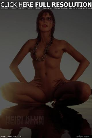 Naked Heidi Marshall picture