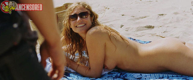 actress Sophie Hilbrand 19 years Without swimming suit picture beach