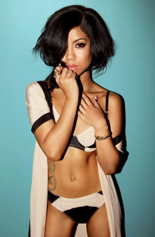 Jhene Aiko topless photos