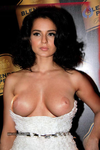 actress Kangana Ranaut 22 years the nude photography in the club