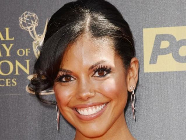 actress Karla Mosley 24 years ass foto in public