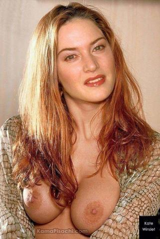 Hot photoshoot Kate Winslet tits