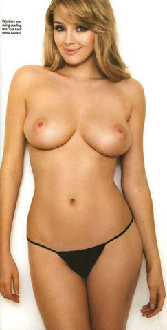 Keeley Hazell topless picture