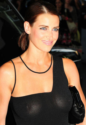 Hot snapshot Kirsty Gallacher tits