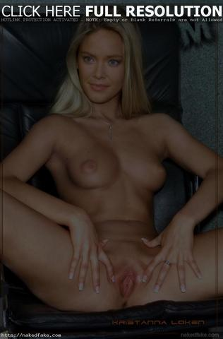 Hot photo Kristanna Loken tits