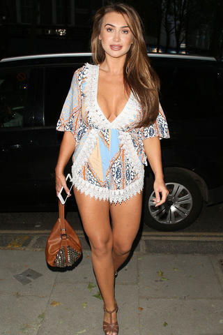 models Lauren Goodger 20 years bawdy photography in the club