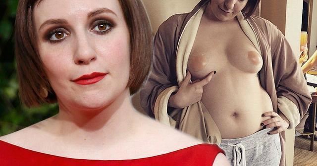 actress Lena Dunham 21 years spicy art beach
