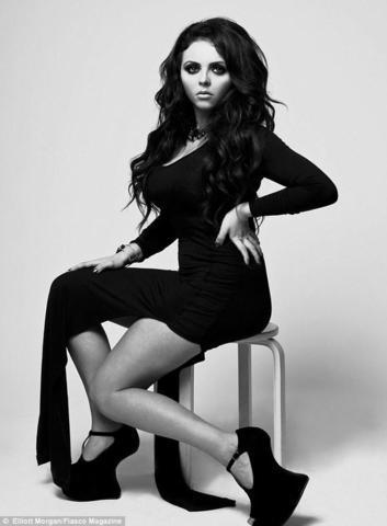 models Jesy Nelson 20 years Without slip art in public