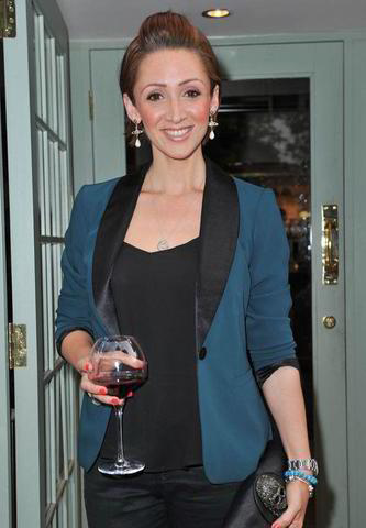 celebritie Lucy-Jo Hudson 2015 undressed art in the club