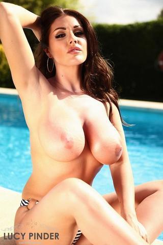 Naked Lucy Pinder picture