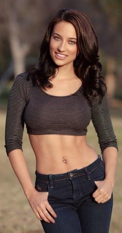 models Inanna Sarkis 18 years chest image beach