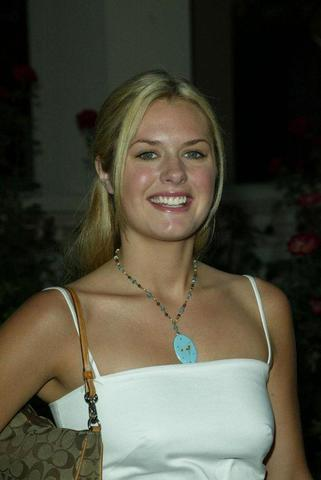 models Maggie Lawson young bosom snapshot in the club