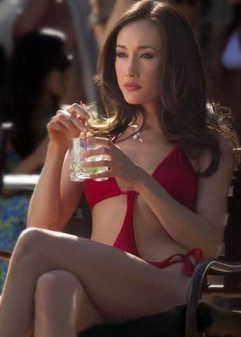 Hot picture Maggie Q tits