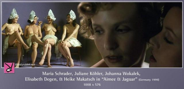 celebritie Johanna Wokalek 19 years obscene snapshot in the club