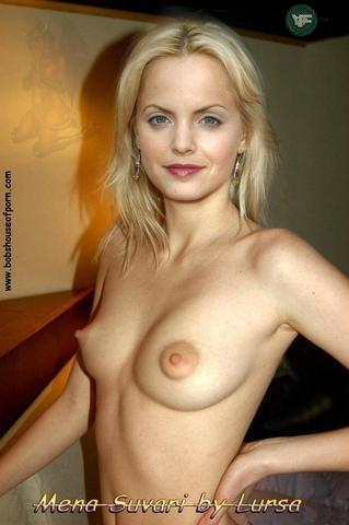 celebritie Mena Suvari young exposed foto home