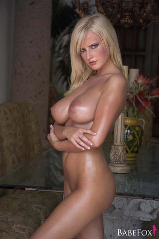 Naked Michelle LaRue photoshoot