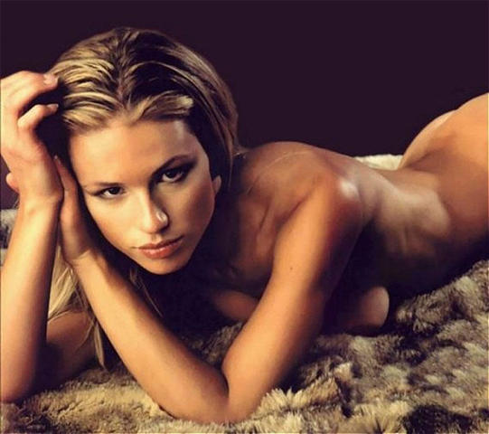 Naked Michelle Hunziker photography