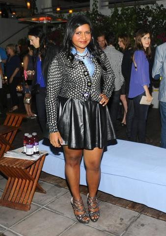 celebritie Mindy Kaling 25 years fervid art beach