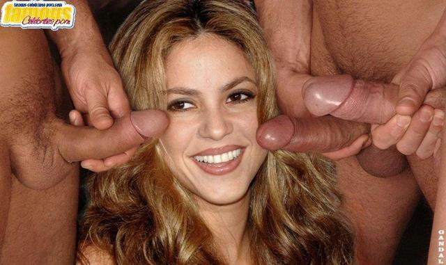 actress Shakira young erogenous picture beach