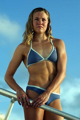actress Natalie Coughlin 25 years bosom art beach