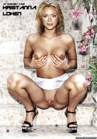 actress Kristanna Loken 25 years Without panties photoshoot home