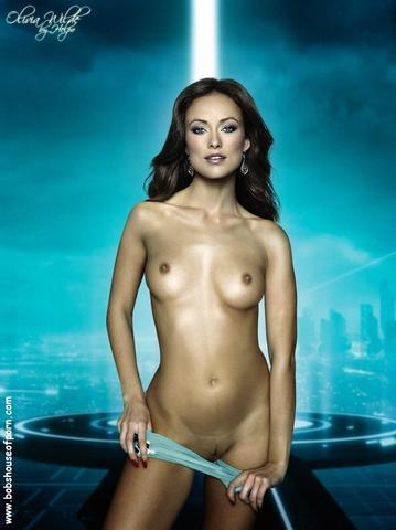 celebritie Olivia Wilde 24 years provocative snapshot home