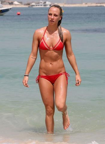 models Chloe Madeley 22 years the nude picture beach