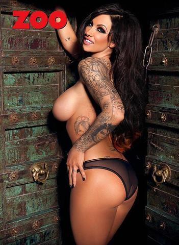 Naked Jodie Marsh photos
