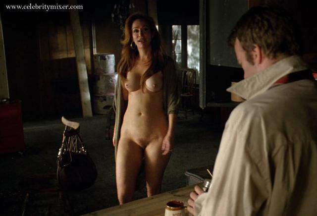 X-Force Rebecca hall naked but for