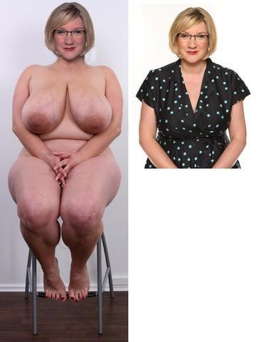 Sarah Millican topless photoshoot