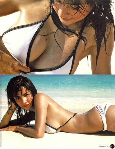 models Supakson Chaimongkol 23 years bared image beach