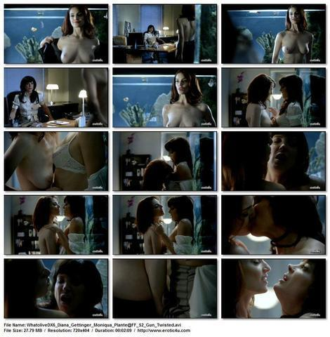Diana Gettinger topless pics