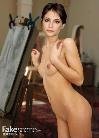 actress Willa Holland young uncovered image home