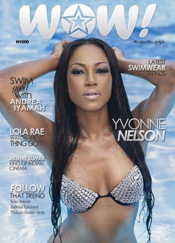 Naked Yvonne Nelson photography