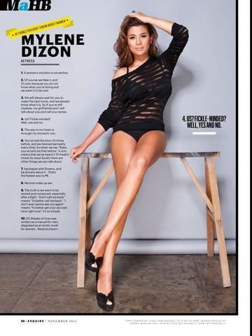 models Mylene Dizon 21 years unsheathed foto home