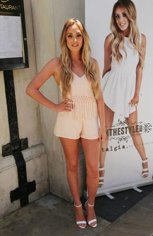 celebritie Charlotte Crosby teen nudity image in public