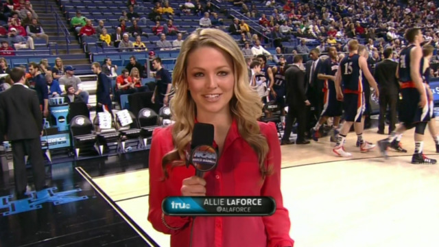 models Allie LaForce teen bawdy picture in public