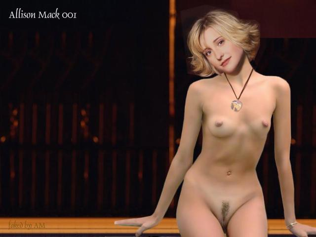 Allison Mack topless photography