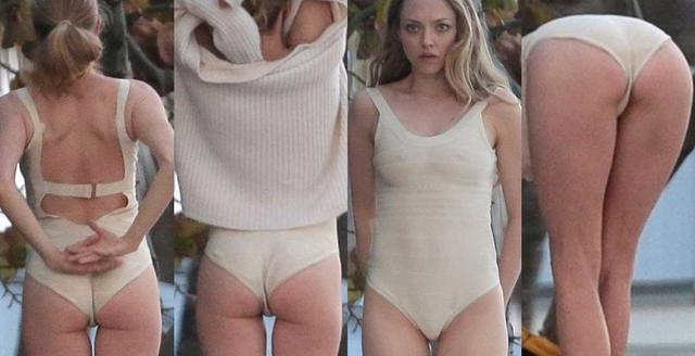 actress Amanda Seyfried young undressed photos in the club